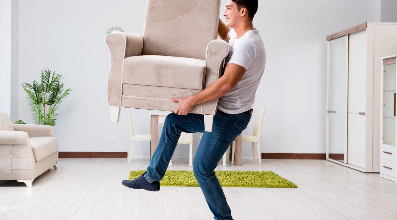 преместване на тежки мебели корица
