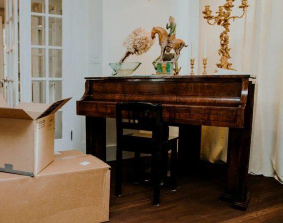 преместване на пиано оглед