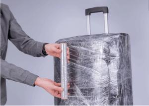 преместване на багаж обезопасяване