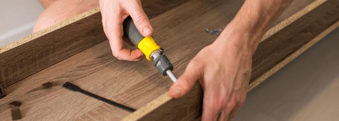 преместване на тежки мебели разглобяване